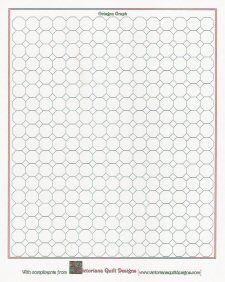 Printable Tumbling Block Quilt Graph Paper quilt graph