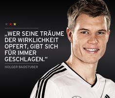 Unser Innenverteidiger Holger Badstuber, Abwehr, 1,90m    Our centre back Holger Badstuber, Defender, 1.90m