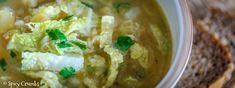 Hustá kapustová polévka Mashed Potatoes, Spicy, Ethnic Recipes, Food, Whipped Potatoes, Smash Potatoes, Essen, Meals, Yemek