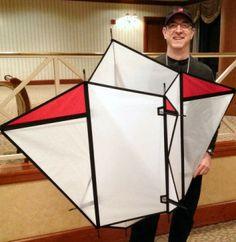 Kite Making, Kite Designs, Diy Toys, Zine, Paper Cutting, Planes, 1, Inspiration, Box Kite