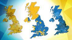 EU referendum: The result in maps - BBC News