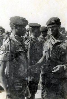 Portuguese Army African Comandos - Guiné / Guinea 1974