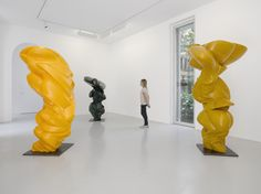 by Tony Cragg installation view at Lisson Gallery, Milan Contemporary Sculpture, Contemporary Art, Sculpture Art, Sculptures, Sculpture Garden, Lisson Gallery, Gothic Architecture, International Artist, Three Dimensional
