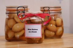 Great teacher gift idea! -- mini baba au rhum