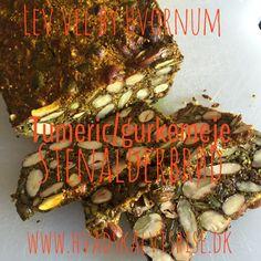 Tumeric brød – glutenfri
