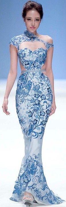 Zhang Jingjing 2013 haute couture