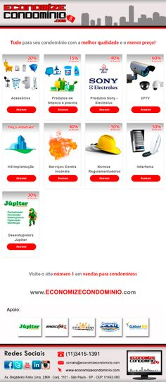 Visite nosso site www.economizecondominio.com
