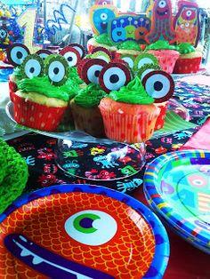 little monster birthday party decor