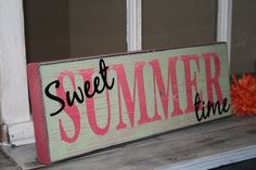 My Sweet SUMMER time sign has been featured at Giggles Glitz & Glam ! Thank you Jana for the nod! I truly appreciate it! Stop by Gi.