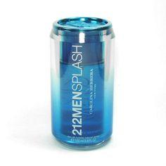 #Perfume 212 Men Splash de #CarolinaHerrera