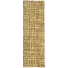 Hand-woven Weaves Natural-colored Fine Sisal Runner (2' x 12') | Overstock.com Shopping - Great Deals on Safavieh Runner Rugs