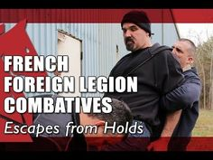 How to Escape from a Headlock | FRENCH FOREIGN LEGION COMBATIVES - Phase II