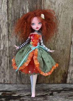 monster high - custom - bohemian princess