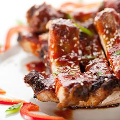 Here is the perfect Sweet Honey Barbecue Ribs recipe for those awesome barbecue style meals. Asian Barbecue Sauce Recipe, Honey Bbq Sauce Recipe, Barbeque Sauce, Soy Sauce, Rib Recipes, Grilling Recipes, Cooking Recipes, Asian Recipes, French Recipes