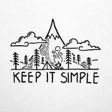 Looking for inspiration in some of my older drawings, I'm often reminded to just keep it simple. By David Rollyn Doodle Drawings, Easy Drawings, Doodle Art, Simple Doodles Drawings, Simple Cute Drawings, Word Drawings, Easy Doodles, Cute Doodles, Keep It Simple