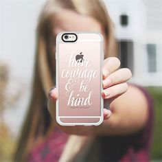 Have Courage and be Kind - White - New Standard Case