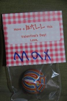 Valentines Day. Did with oval labels, cute! Another one... Circle or fish bowl cutout. Swedish fish. Both in bag. Write on bowl, I'm glad we're in the same school. 2013