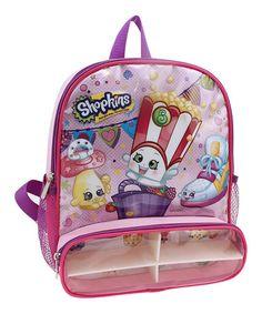 131dbb10398 Shopkins™ Compartment Pocket Backpack  zulilyfinds Shopkins. Shopkins  GirlsBuy ...