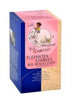 Sonnigen Schulbeginn! Sonnentor Elefantenstarkes Bio-Bengelchen kbA, Beutel Stark, Cover, Books, Beginning Of School, Online Shopping, Elephants, Cordial, Sachets, School