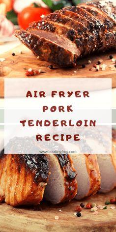 Air Fryer Oven Recipes, Air Frier Recipes, Air Fryer Dinner Recipes, Air Fryer Recipes Pork Loin, Air Fryer Rotisserie Recipes, Cooking Pork Loin, Oven Fryer, Power Air Fryer Recipes, Power Air Fryer Xl
