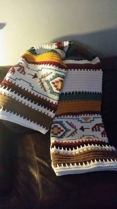 Crochet Indian Blanket