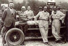 Tazio Nuvolari and Enzo Ferrari