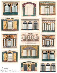 Windows of Paris Collage Sheets