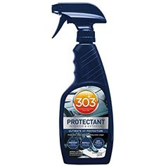 303 UV Protectant for vinyl, rubber, plastic, tires and finished leather, 16 fl. oz.