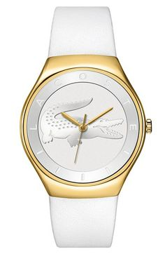 Lacoste 'Valencia' Logo Dial Watch, 38mm available at #Nordstrom