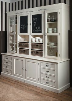 Inspiration for a free-standing piece to compliment clients kitchen.