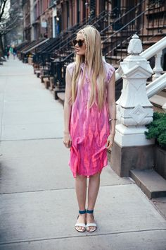 Spring/Summer dress on my blog today.