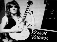 ☆ Randy Rhoads ☆ - Rock Guitar Legends Wallpaper (32128380) - Fanpop