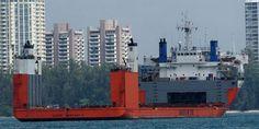 The Super Servant 3 anchored off Singapore