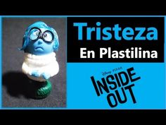 Cómo hacer a Tristeza de plastilina / IntensaMente / Inside - Out - YouTube