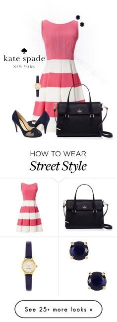 """""""Kate Spade"""" by kaylarm on Polyvore featuring Kate Spade"""