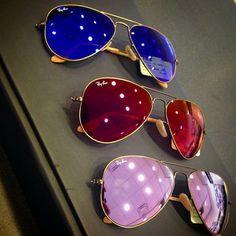 #Gafas de sol de aviador de @ray_ban