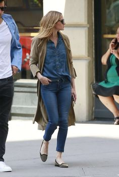 The Olivia Palermo Lookbook : Olivia Palermo and husband out in New York City