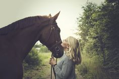 Girl and a horse by Salla Vesa on 500px