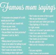 Mothers Day Quotes, Mom Quotes, Mothers Love, Famous Quotes, Funny Quotes, Mom Sayings, Stupid Quotes, Funny Humor, Life Quotes