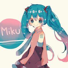 Vocaloid - Miku Hatsune (初音 ミク) -「MIKU」/「berry」のイラスト [pixiv]