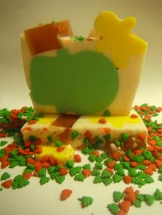 Snowy Treat Goats Milk Soap by soapysuds.com.au for $6.00