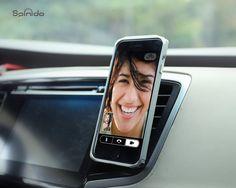 Amazon.co.jp: Spinidoスピニド®iPhone6/6Plus/5s/5c対応マグネット式スマホフィン 車載ホルダー エアコン 吹き出し口 エアーベントフィン 取付 タイプ (circular, silver): 家電・カメラ