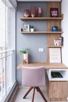 These home office organization ideas not only inspire productivity but are great. Check out some of the best home office organization. Study Table Designs, Study Room Design, Study Room Decor, Home Room Design, Home Office Design, Home Office Decor, Home Decor Bedroom, Study Space, Tiny Home Office