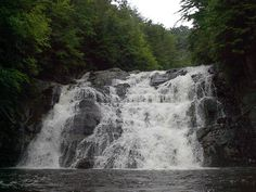 laurel fork falls appalachian trail hikes