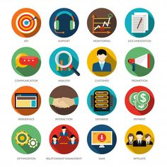 Find Crm Round Icons Set Monitoring Support stock images in HD and millions of other royalty-free stock photos, illustrations and vectors in the Shutterstock collection. Graphic Design Services, Freelance Graphic Design, Flat Design Icons, Icon Design, Business Icon, Business Logo, Web Social, Design Plano, Banners
