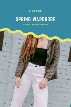 Spring Capsule Wardrobe/Mom Uniform for Spring
