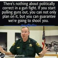 A police officer does not see race or socioeconomic status when a gun is pointed at them. They see a violent criminal. So don't be a violent criminal. Proud Of My Daughter, Proud Of Me, Police Wife Life, Police Lives Matter, Conservative Politics, Get Shot, Real Hero, Blue Bloods, Thin Blue Lines