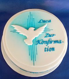 Die Tortenmacherin: Airbrush zur Konfirmation von Luca (Cool Cakes Without Fondant)