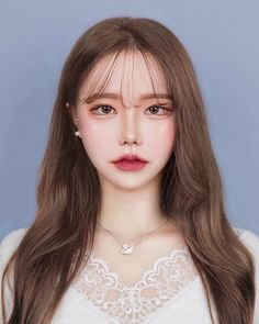 Korean Makeup, Korean Beauty, Asian Beauty, Uzzlang Girl, Girl Face, Job Interview Makeup, Sweet Makeup, Ulzzang Makeup, Ulzzang Korean Girl