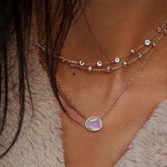 Epitome of layered beauty freeform rainbow moonstone topaz & diamonds  . . . . . . . . #designerjewelry #ca #vt #moonstone #champagne #topaz #choker #diamonds #elegance #feminine #beauty #winterbeauty #winterfashion #vermont #diamondnecklace #giftsforher #stunning #argentolaraine #igvermont #jewelrygram #perfection #bestjewels #sparkle #christmasgifts #artistsofinstagram #argentolarainefinejewelry